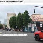 PBOT plans to stripe new 3rd Avenue bike lane this weekend
