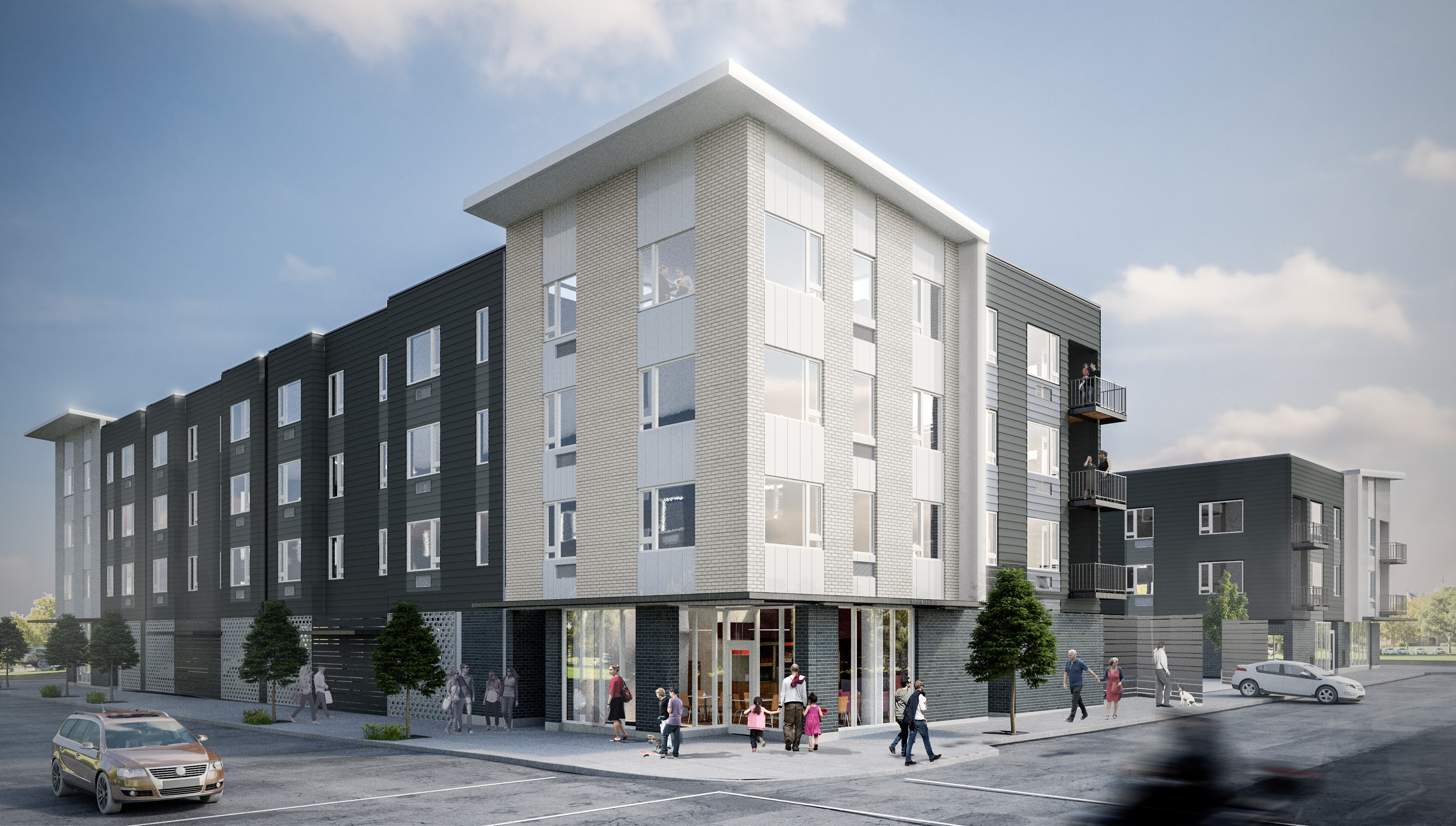 New 78 unit apartment will include downtown Beaverton s first bike