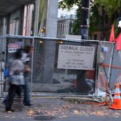 'Sidewalk closed': Portlanders fend for themselves amid building boom