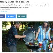 Portland's bike-powered BBQs and talk show get their due