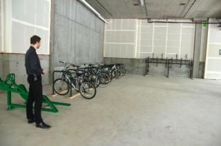overflow bike parking