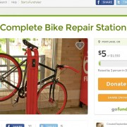 "Fund drive launched for bike repair station on ""Dirty 30"""