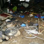 Bicycle 'boneyard' under I-5 freeway is a haven for thieves