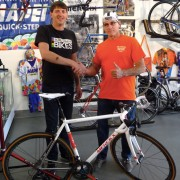 Local shop builds up limited edition 'Eddy 70' road bikes valued at $17,500 a piece
