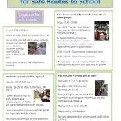 Safe routes to school coalition takes message to east county tonight