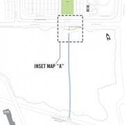 Nike building paved path to connect headquarters to MAX station