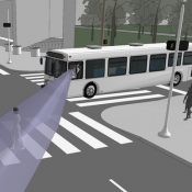 A closer look at blind spots on buses