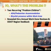 "UPDATED - ODOT says bikers, walkers, people with disabilities are ""problem children"" in work zones"