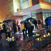 Vigil at ODOT headquarters draws attention to 409 deaths this year