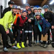 Monday night ride helps women power through winter