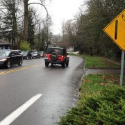 Gap Week: SW Terwilliger between Chestnut and 7th