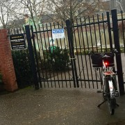 """Willamette Greenway path north of Steel Bridge closed """"until further notice"""" – UPDATED"""