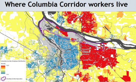 columbia corridor jobs