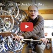 Wednesday Video Roundup: crosswalk safety, unrideable bike, and an ancient derailleur