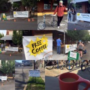 The wait is over- Free Coffee for Bicyclists, Tomorrow: Tuesday, 2/23, 7-9:30am