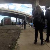Steel Bridge homeless camp update, Feb 17