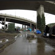 Steel Bridge homeless camp update, Feb 3