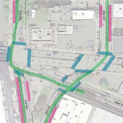 City of Portland considering protected intersections, bike-only lanes for West Burnside project
