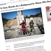 The Monday Roundup: Gaza's female biking club, biking jobs & more