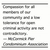 Condo association releases 'Call for Community Safety Plan and Dialogue'