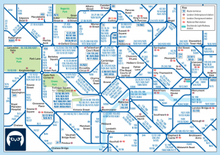 london bus map