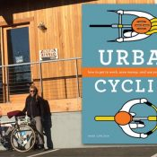 Urban Cycling book reading at Rivelo