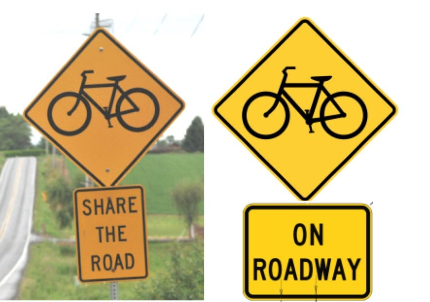 Oregon will phase out 'Share the Road' signs - BikePortland org