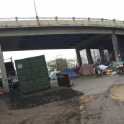 City responds to Steel Bridge homeless camp, Condo owners re-open Greenway path