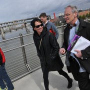 Janette Sadik-Khan tours Portland with Congressman Earl Blumenauer (photos)