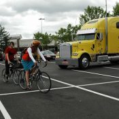 West-side group wants advice about bike parking locations in the burbs