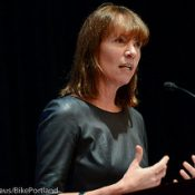 Janette Sadik-Khan & Earl Blumenauer at Powell's Books