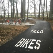 First look: Nike's new bike path through the woods connects light rail to World HQ