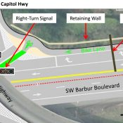 Finally! ODOT acknowledges need for a road diet on SW Barbur Blvd