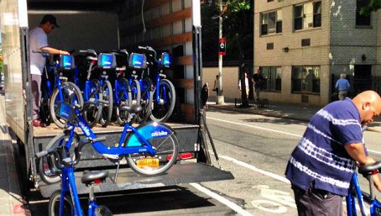 citi bike truck
