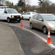 'Agents of transformation' help spread traffic cone activism in Portland