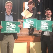 Mayoral candidates make cycling part of green policies at environmental debate