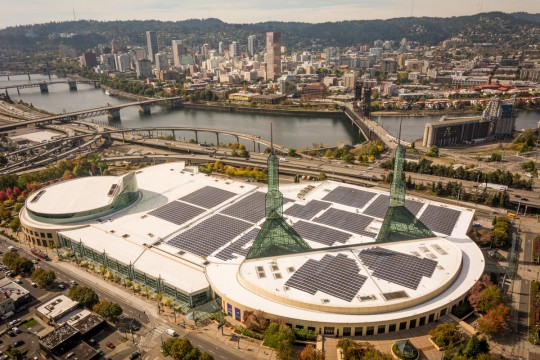 solar panels convention center