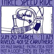 Three Speed Ride