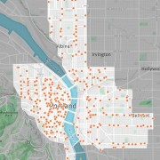 First look at Portland's expanded bike share service area and proposed station locations