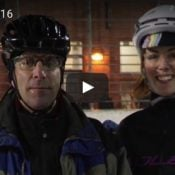 Wednesday video roundup: icy racing, Dutch filmmaking, and a dirty bike commute