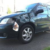 Left-hook collision on Williams Avenue sends woman to the hospital