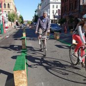 Better Block volunteers prep for Broadway and Burnside demos in May and June