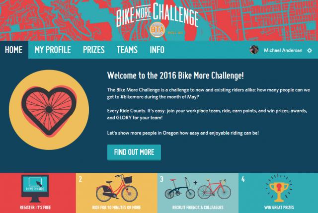 bike more challenge