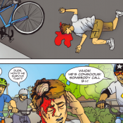 The Monday Roundup: Biker madness comic, citations for kids & more