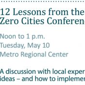 12 Lessons from the Vision Zero Cities Conference