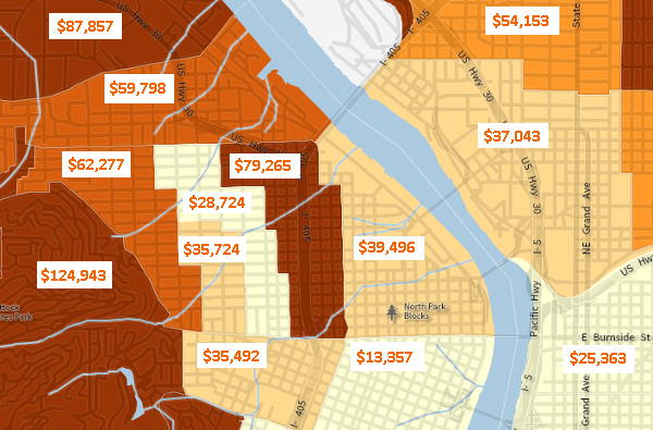 northwest portland income