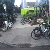Portlander offers  beer to illustrate bike parking demand at brewery
