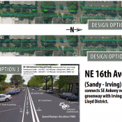 More bike projects in the works: NE 16th, SE Holgate, NE 37th