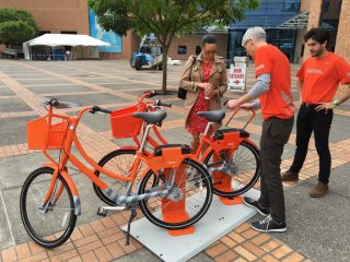 BIKETOWN open for demos! (Photo: City of Portland)