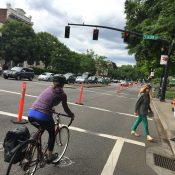 Ask BikePortland: Do I have to stop for red lights while riding on 'Better Naito'?